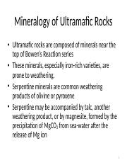 mineralogy of the ultramafic rocks.ppt