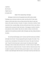 Modern_fiction_analysis_Hemingway.pdf