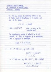 CHEM230_Chemical_Kinetics_Tutorial_1_Solutions