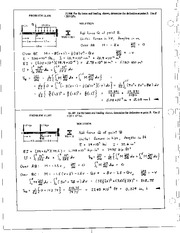 1391_Mechanics Homework Mechanics of Materials Solution