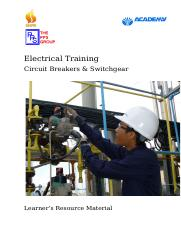 E-05 Circuit Breakers & Switchgear Learner's resource material_Rev1.doc