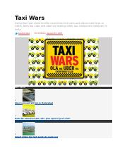 Taxi Wars.docx