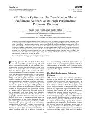 GE Plastics Optimizes the Two-Echelon Global.pdf