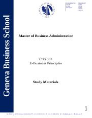 CSS 301  - Study Material.doc