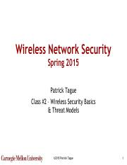 Wireless Network Security S17- #01 - Course Introduction pdf