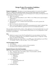 ENGE1114_Sp2013_DesignProjectPresentationGuidelines