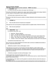 Rhetorical Worksheet-2