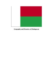 Research Paper on Natural Disasters in Madagascar