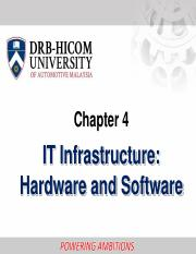 T4 IT Infrastructure Hardware  Software.pdf