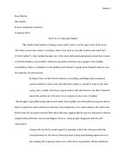 John Updike Research Paper.docx