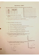 Supply Worksheet