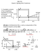 Spring 2012 exam 2 solutions