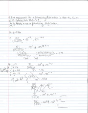 Probability Distribution Notes