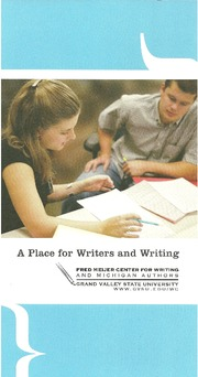 Services Of Fred Meijer Center For Writing(1)