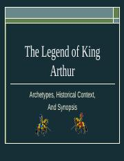 Arthurian Legend and Archetypes PPT