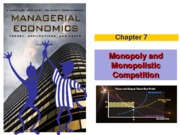 Chapter 7 (Monopoly and Monopolistic Competition) Winter 2013