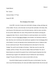 the grapes of wrath documents course hero the grapes of wrath essay