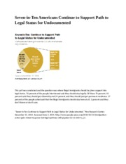 Undocumented Immigrants poll retry