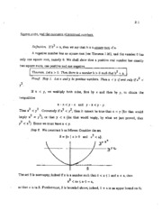 irrational numbers study guide