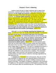 Sample essay-marked