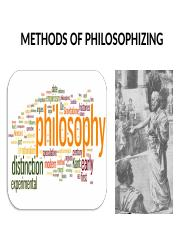 Topic 2. Methods of Philosophy.ppt