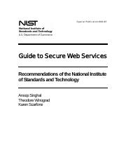 NIST SP800-95 Guide to Secure Web Services.pdf