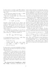 Math 218 Types of Errors Notes