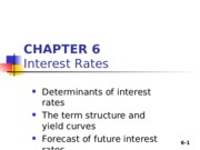 Chapter 06_Interest Rates