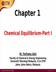 tutorial 2 chemical equilibrium 1 learning goals and key skills: understand what is meant by chemical equilibrium and how it relates to reaction rates write the equilibrium-constant expression for any reaction.