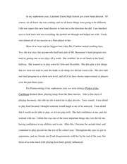 personal narrative essay
