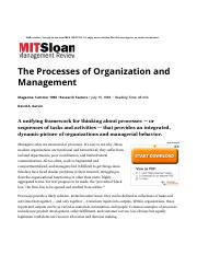 The Processes of Organization and Management.pdf