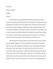 Beowulf Reflection 1.docx