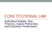 03-01Constitutional Law Part I and Part II