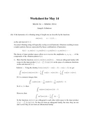 Worksheet on Dual Transformations