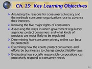 Consumer Protection Lecture Slides