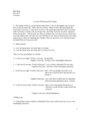Phil 220g Fall 2011 Lecture #9 v3 Pascal's Wager Argument