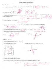 PreCalc Semester 2 Review Sheet L