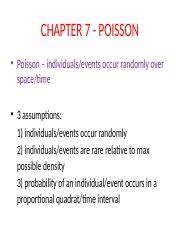 Chapter 7 - Poisson Fall16