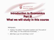 Introduction to micro part III