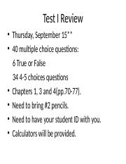 Test1 Review.ppt