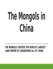 The Mongols in China-1.pptx