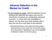 Moral Hazard and Adverse Selection_Part 2