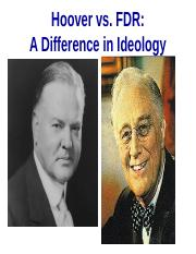 Hoover vs. FDR brief.ppt