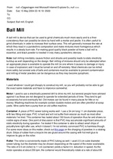 Ball mill, by wouter visser