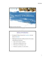 07_The Theory of Production_New