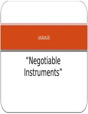 PP17_Lecture-16_Negotiable Instrument.pptx
