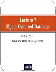 Lecture_7_-_Object_Oriented_Databases-V1