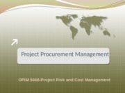 Lect#5 - Procurement Management