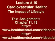 Lecture 10a - Cardiovascular Health - The Impact of Lifestyle