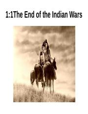1-1 The End of the Indian Wars.pptx